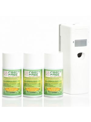 Mini Set Extra (Dispenser + 3 Vullingen) excl.2 x D batterijen